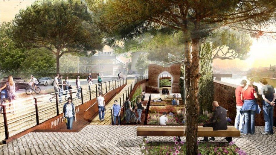 Porta Galliana: entra nella fase finale l'intervento di valorizzazione del monumento che in epoca malatestiana regolava l'accesso da mare al cuore di Rimini