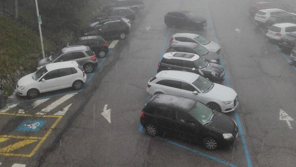 Meteo: temperature polari sul Monte, Carpegna imbiancato