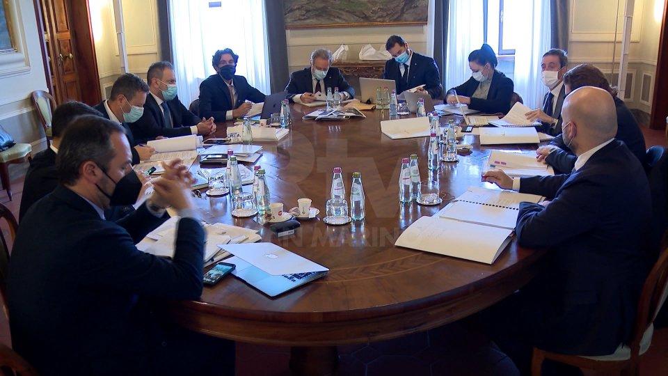 Il Congresso di Stato torna in presenza a Palazzo Begni dopo mesi di riunioni da remoto
