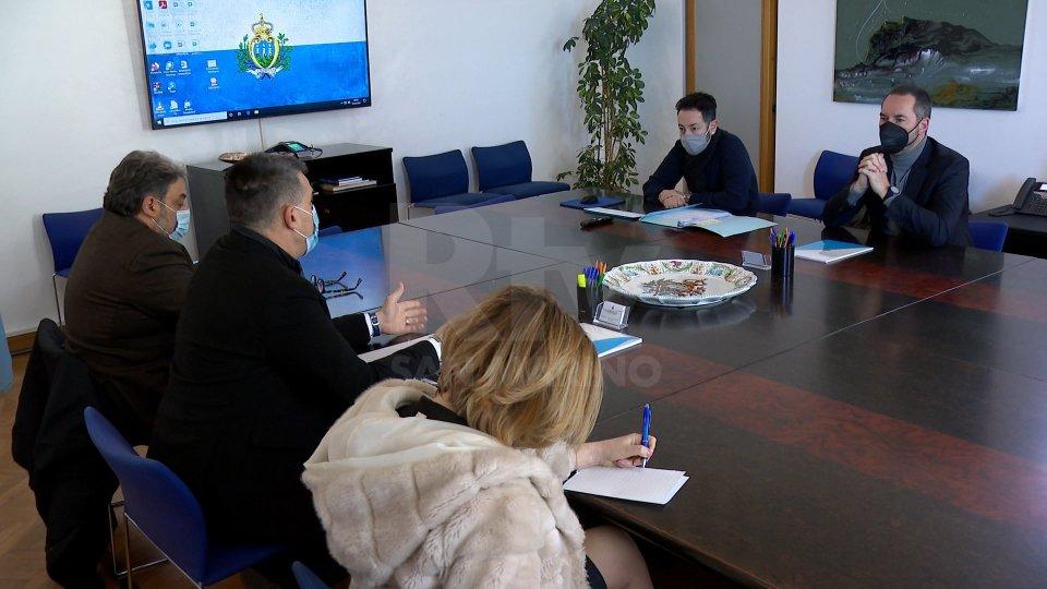 L'incontro della Consulta con Segretario all'Informazione