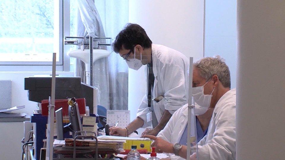Nel servizio Antonio Battistini,  Roberto Venturini, Giancarlo Terenzi e Claudia Silvagni
