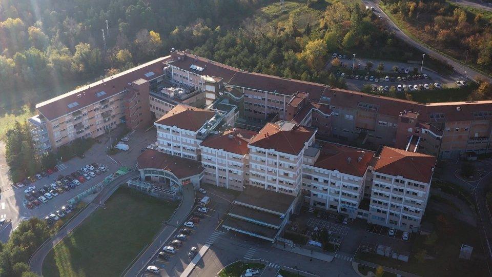 Il cruscotto Covid (iss.sm)Ospedale di Stato