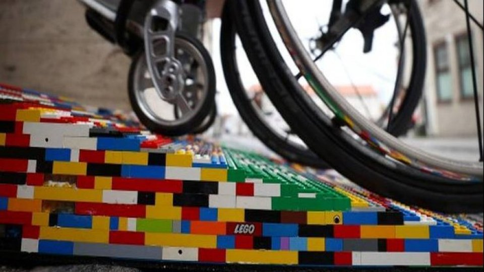 In Germania i Lego diventano rampe per i disabili