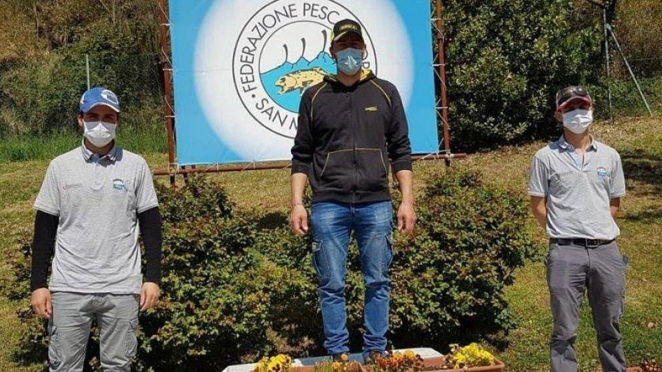 Ivan Biordi Campione di Carpa Lago