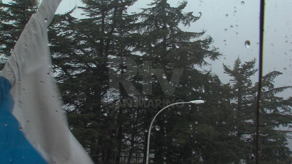Allerta meteo per temporali