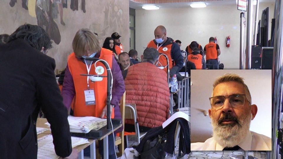 Nel video in collegamento Skype, il Consigliere Paolo Rondelli, membro delegazione sammarinese presso l'Assemblea Parlamentare OSCE.