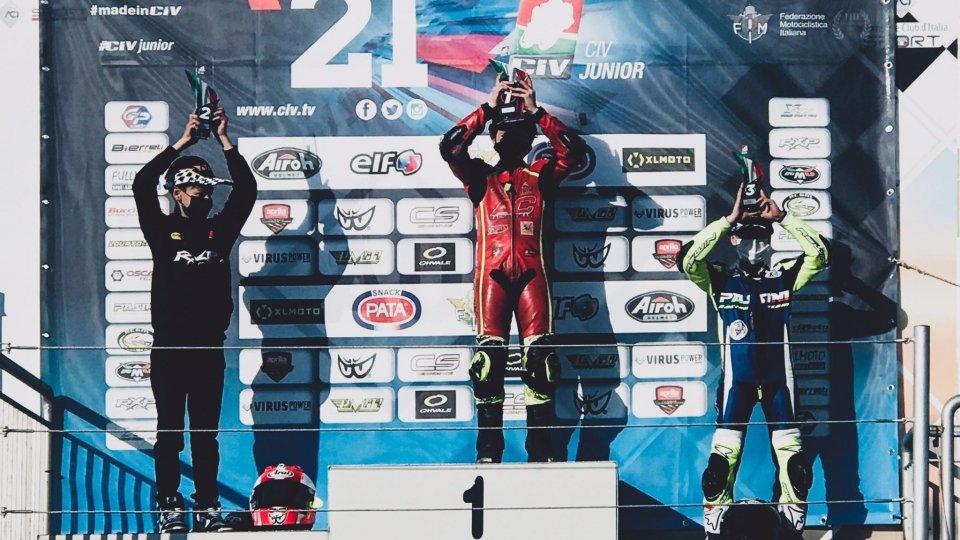 MiniGP: il sammarinese Gabriel Tesini vince all'esordio