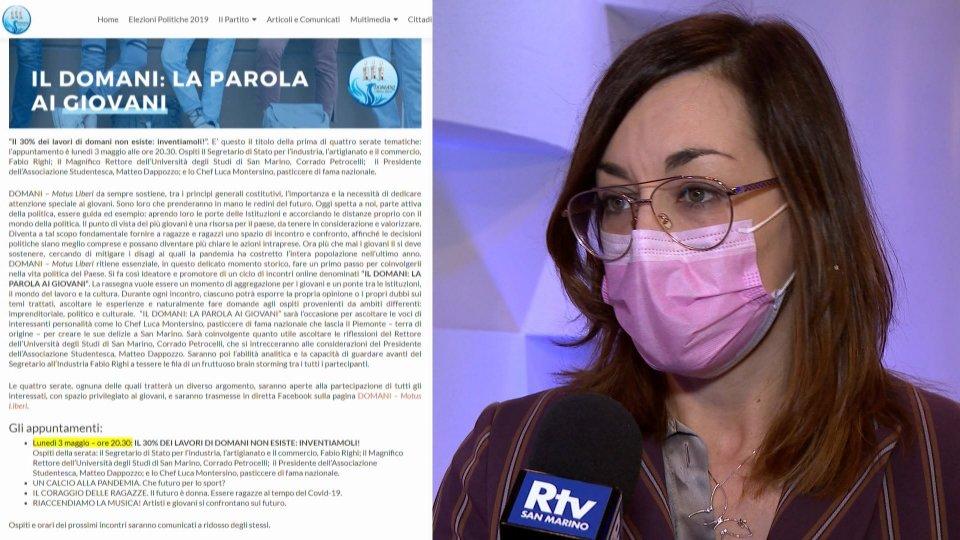 Sentiamo Michela Pelliccioni