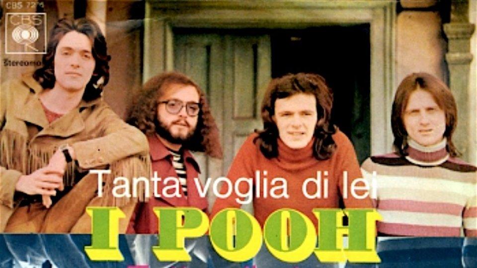 """La copertina del 45 giri di Tanta voglia di lei50 anni di Tanta voglia di lei, Facchinetti: """"Il brano della svolta per i Pooh"""""""