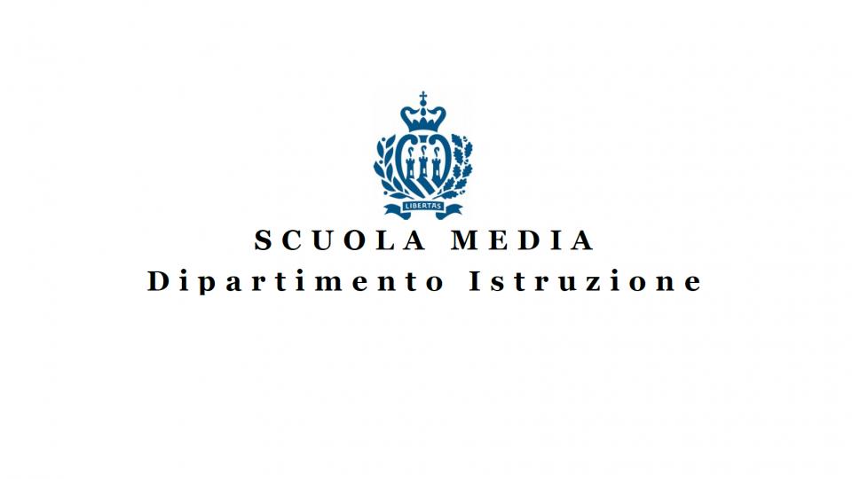 Scuola Media: Iscrizioni per l'anno scolastico 2021-2022
