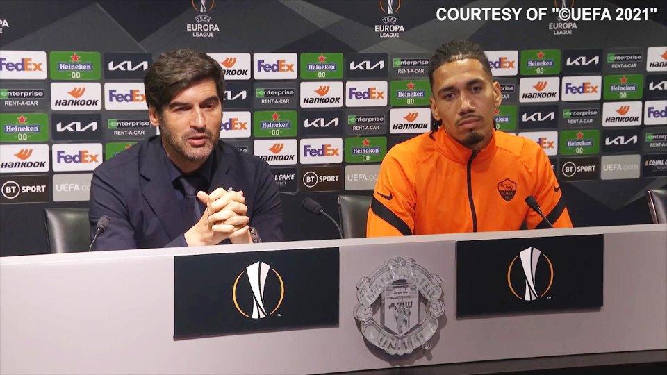 Nel servizio le parole di Paulo Fonseca (allenatore Roma) e Chris Smalling (difensore Roma)