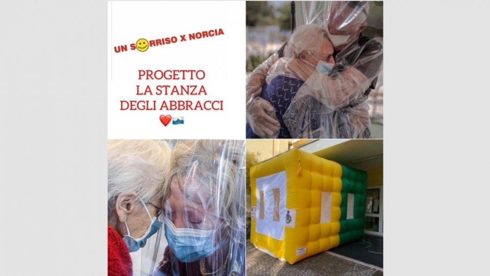 Un sorriso per Norcia: Progetto 2021 - La stanza degli abbracci a San Marino