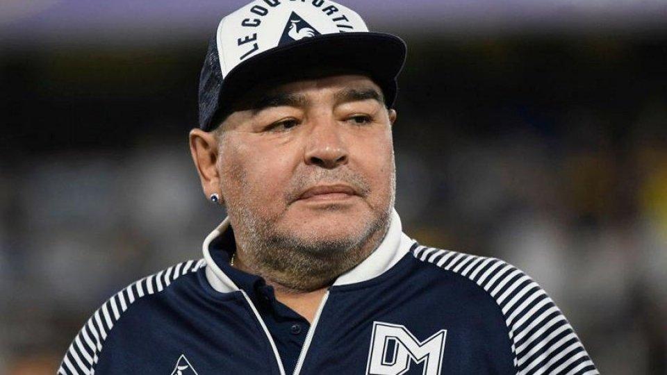 Diego Armando Maradona - ph: @raisport