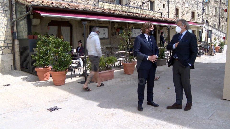 Federico Pedini Amati e Gianni Indino uniscono le forze su un evento test a San Marino