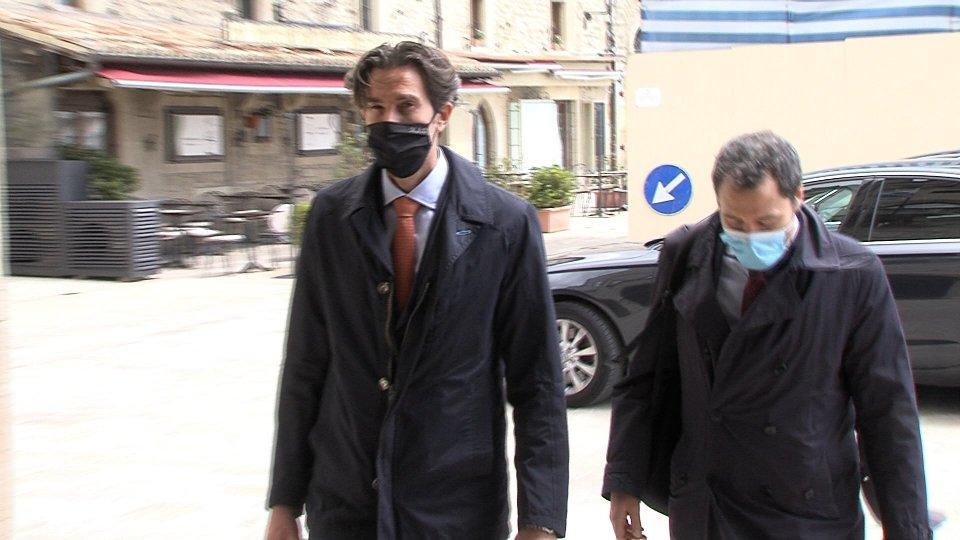 Segretario Massimo Ugolini e Manuel Ciavatta
