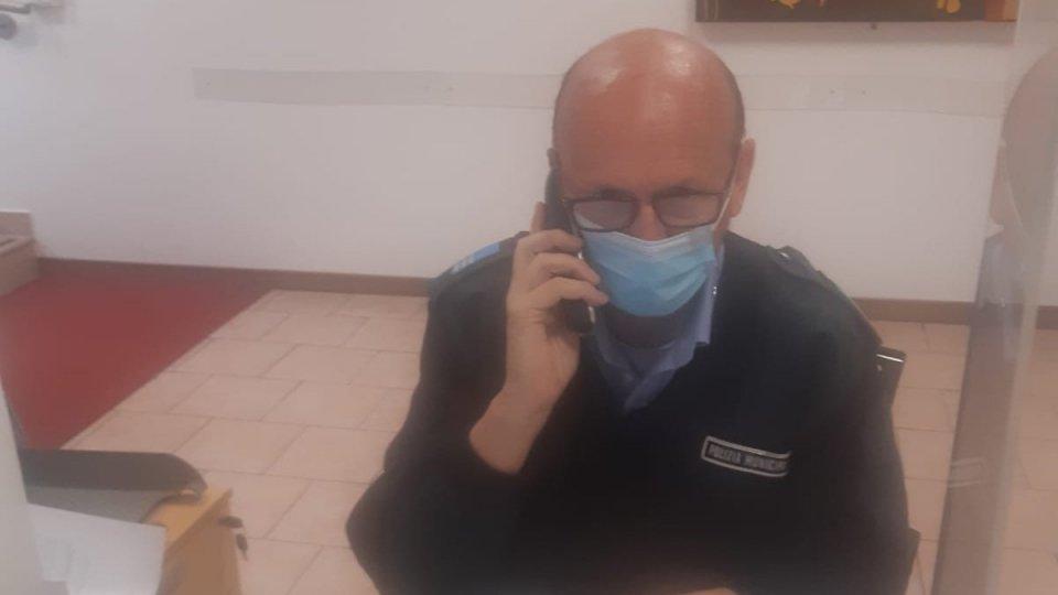 Covid: Moreno, della Polizia Locale,  'voce amica' per quelli in quarantena