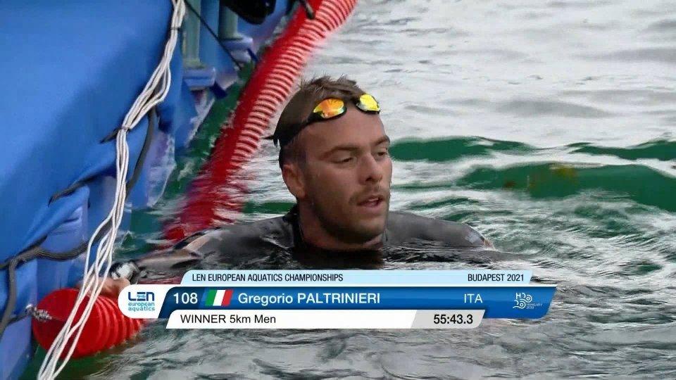 Capolavoro Paltrinieri, oro europeo nella 5 km di fondo