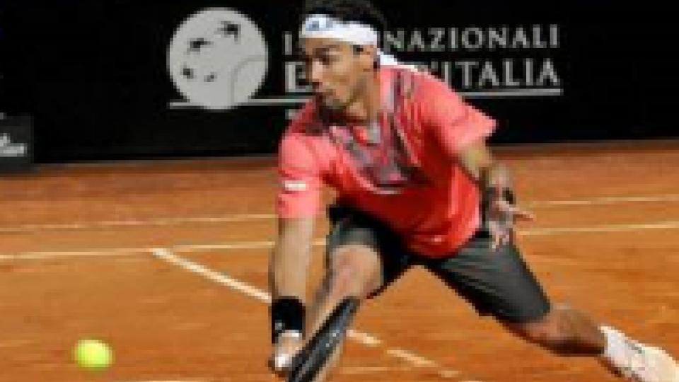 ATP Roma: Fognini sfiora l'impresa.