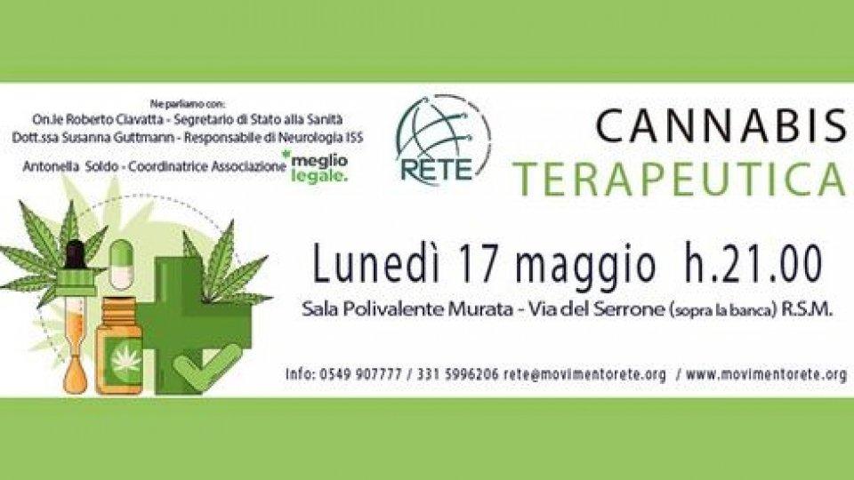 Rete: Invito serata pubblica su Cannabis Terapeutica 17/05 - ore 21:00