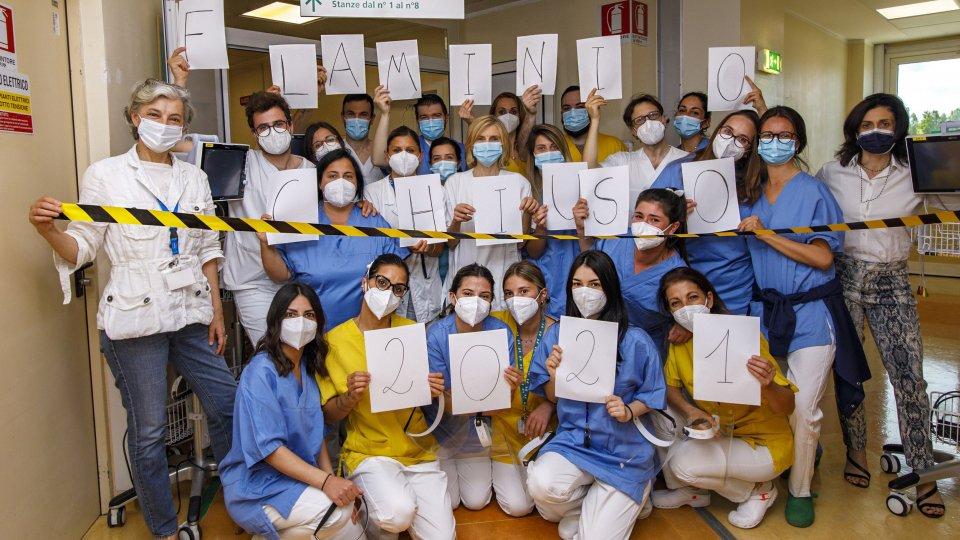 All'Ospedale Infermi chiuso il reparto COVID Flaminio