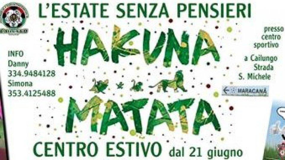 sp Cailungo - Tris di Eventi sabato 22 maggio, Hakuna Matata, Open Day Scuola Calcio e Accademia Femminile