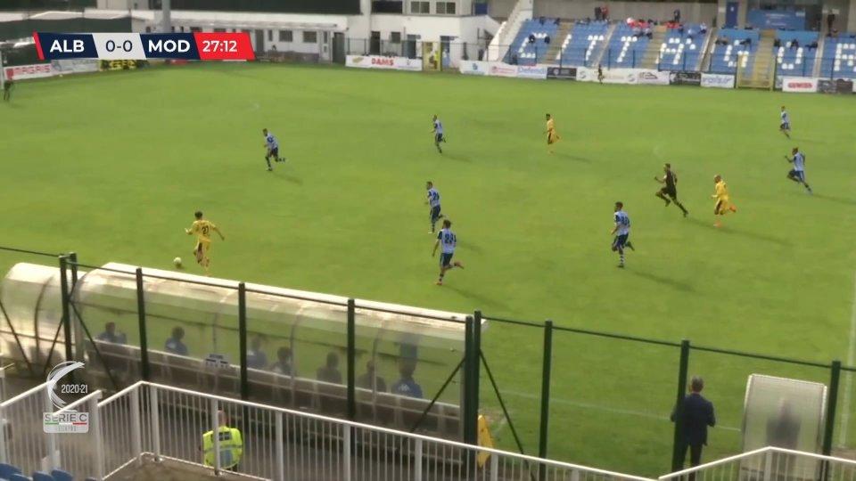 Albinoleffe - Modena 0-1