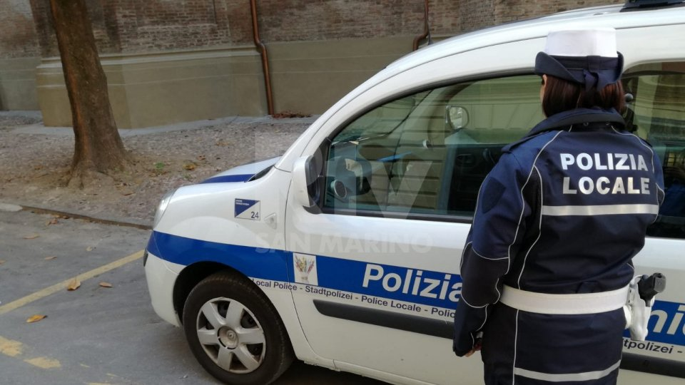 Polizia Locale di Riccione (foto archivio)