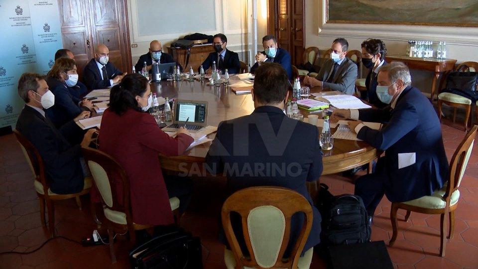 Congresso di Stato: Incontri ai massimi livelli fra San Marino e Italia