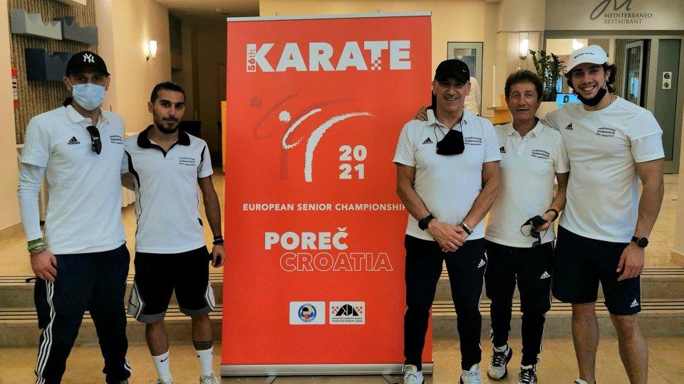 Karate: occasione di crescita per la Fesam al Campionato Europeo