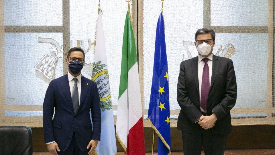 Tavolo permanente al ministero dello Sviluppo Economico tra Italia e San Marino