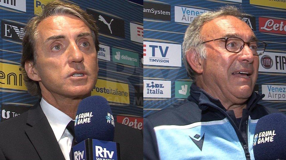 Roberto Mancini e Franco VarrellaRoberto Mancini e Franco Varrella