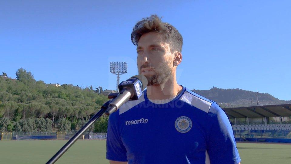 Nel video l'intervista a Mirko Palazzi, difensore San Marino