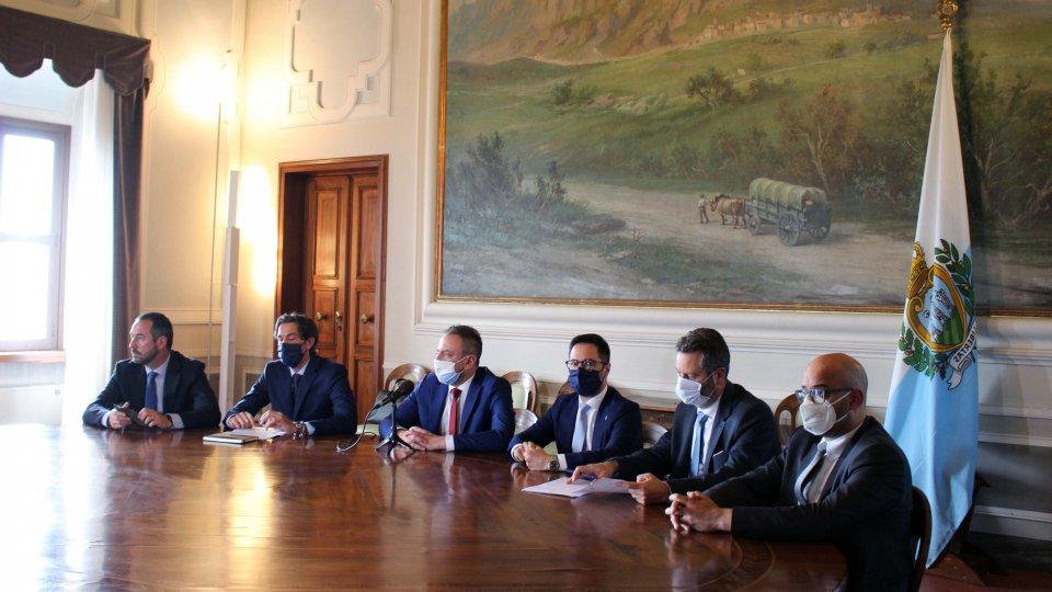 Congresso di Stato: San Marino e Italia ora collaborano convintamente