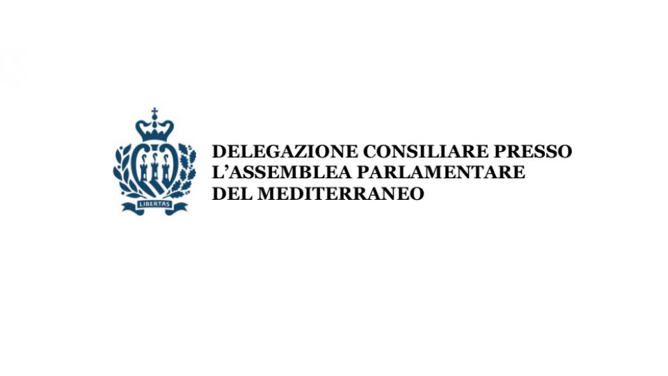 Partecipazione della delegazione sammarinese alla 15^ Sessione Plenaria dell'Assemblea Parlamentare del Mediterraneo