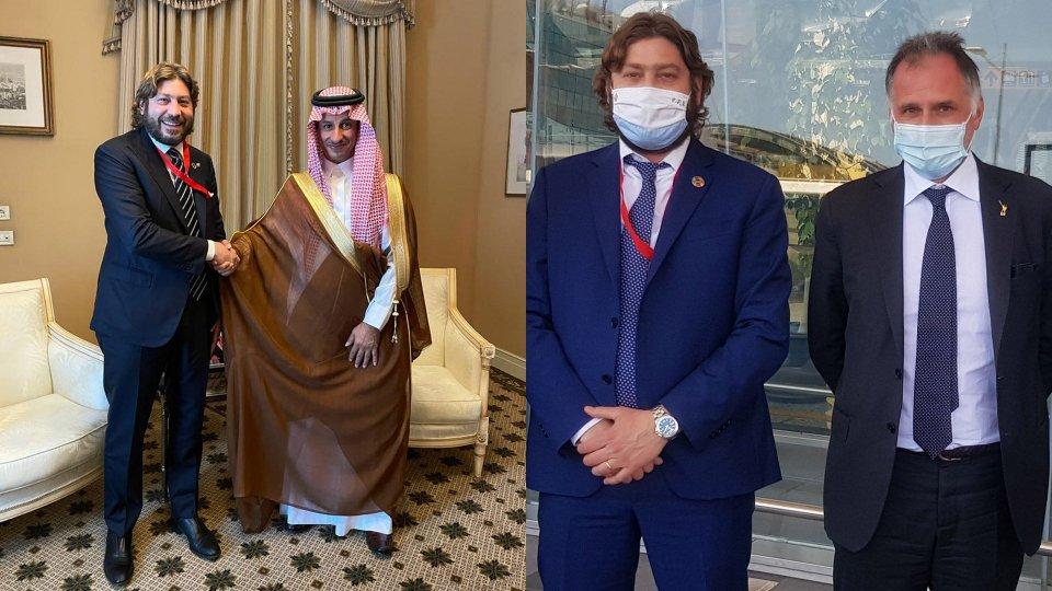 Ad Atene Pedini Amati incontra i Ministri di Arabia Saudita e  Italia
