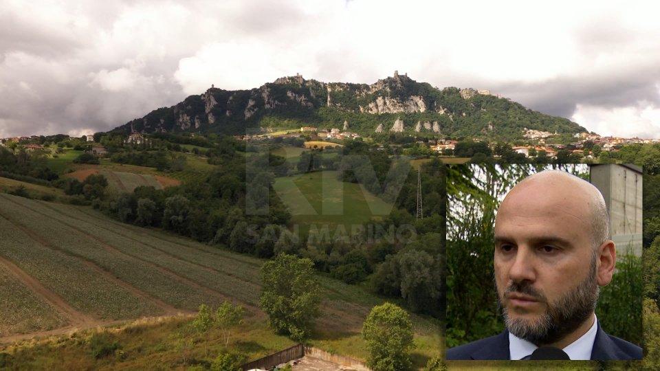 Nel riquadro il Segretario al Territorio Stefano Canti