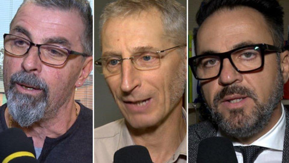 """Giuliano Tamagnini, Gian Luca Montanari e Francesco BiordiSindacati al Governo: """"Inaccettabile il taglio agli stipendi pubblici e delle partecipate"""""""