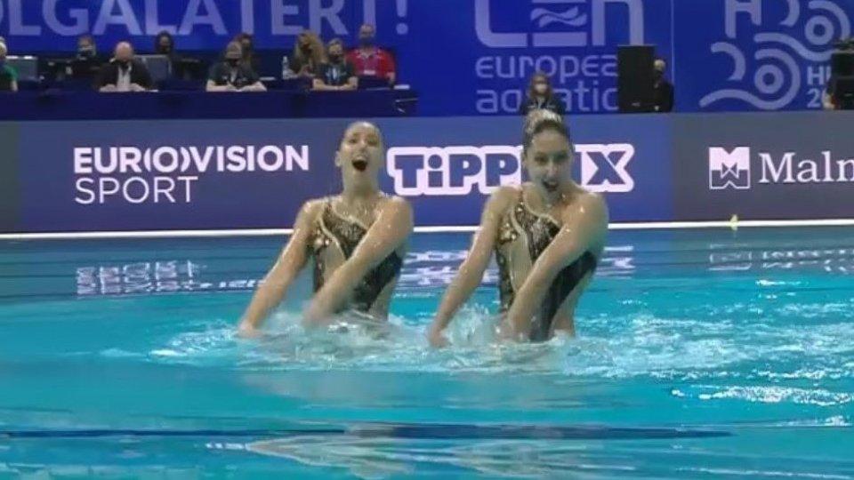 Campionati Italiani estivi: quarto posto per Jasmine Verbena e Jasmine Zonzini nel duo libero