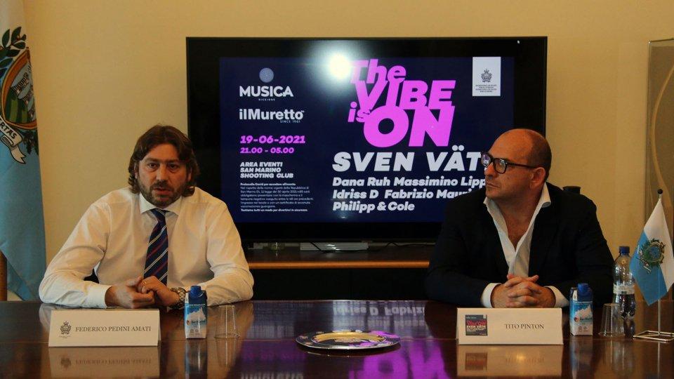THE VIBE IS ON - La Repubblica di San Marino balla in sicurezza