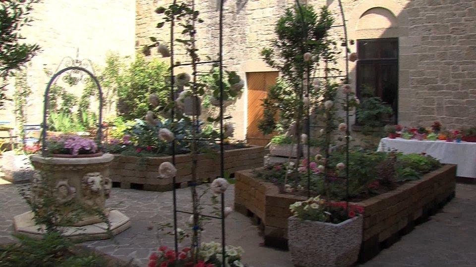 Convento di San Francesco: inaugurato il Giardino della Bellezza; una gemma nel cuore di Città