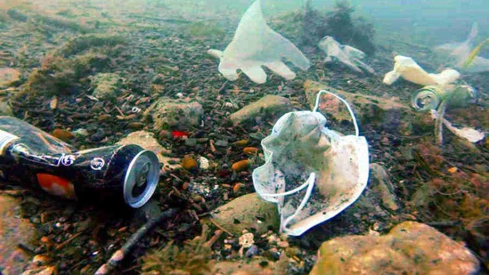 Inquinamento marino: il Covid-19 peggiora la situazione