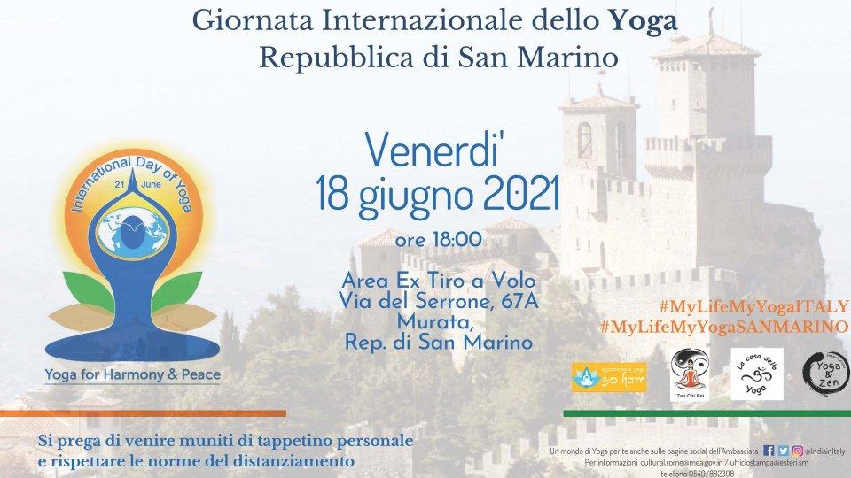 Giornata Internazionale dello Yoga 2021 a San Marino