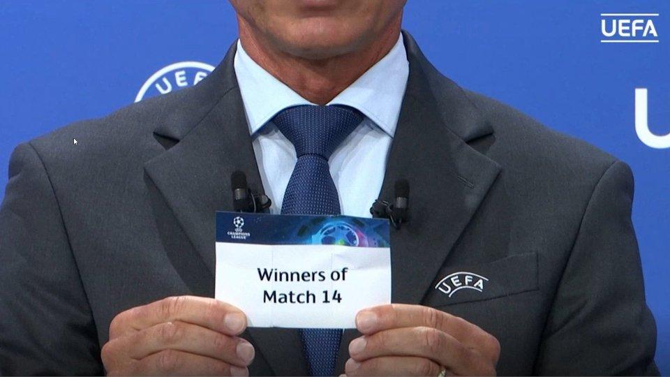 Champions: sorteggiato il secondo turno