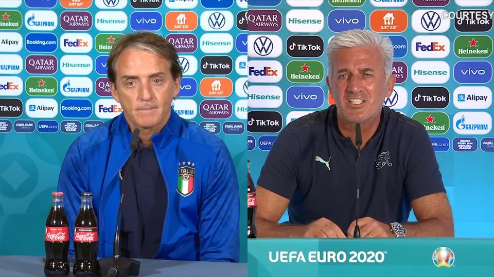 Sentiamo Roberto Mancini e Vladmir Petkovic