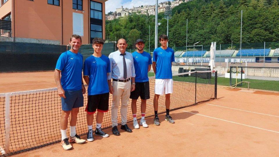 La Nazionale di Coppa Davis in partenza per la Macedonia del Nord