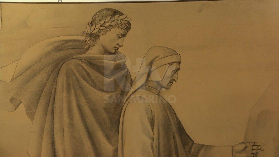 Inaugurata al Museo San Francesco la mostra per celebrare il settecentesimo anniversario della morte di Dante Alighieri.