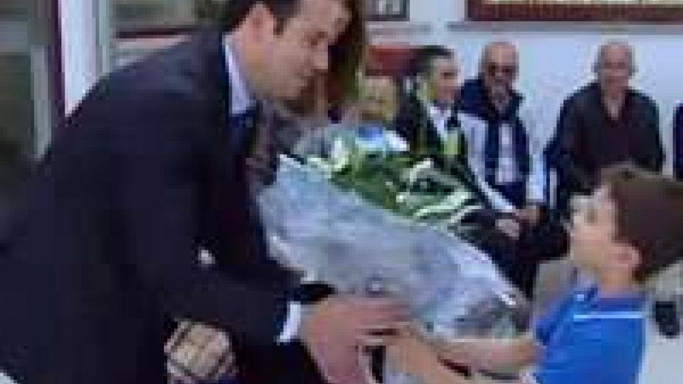San Marino - I Reggenti all'inaugurazione della scuola di DoganaI Reggenti all'inaugurazione della scuola di Dogana