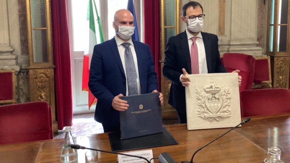 Canti-Patuanelli: un confronto aperto sui temi dell'agricoltura biologica e della riforma dell'impianto normativo sammarinese in materia di agricoltura