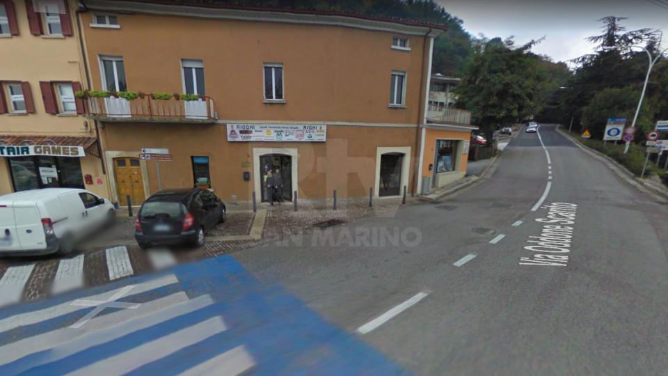 Borgo Maggiore: incidente sul lavoro, uomo precipita dalla pedana mobile di un autocarro