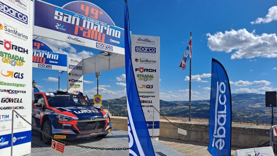 Rally San Marino: a Umberto Scandola la Power Stage